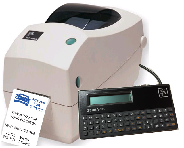 Static Cling Thermal Printer Zebra Tlp 2824 Plus Return