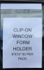 AP-8248-01 * Clip-On Window Form Holder